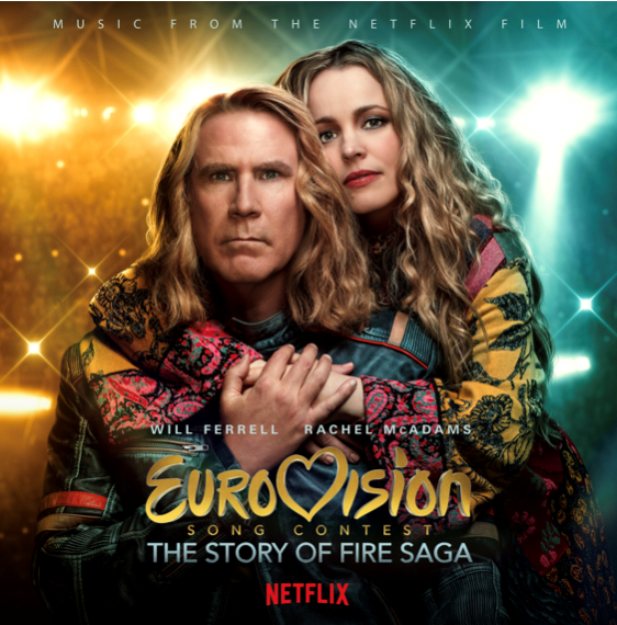 NETFLIX'S 'EUROVISION SONG CONTEST: THE STORY OF FIRE SAGA' REACHES #1 ALBUM ON ITUNES