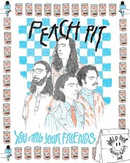 PEACH PIT ANNOUNCE RESCHEDULED 2021 TOUR DATES, DELUXE VERSION OF SOPHOMORE ALBUM YOU AND YOUR FRIENDS