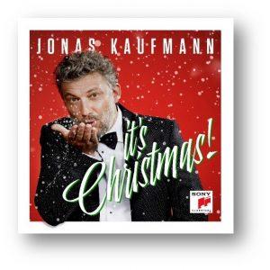 It's Christmas! Jonas Kaufmann cover