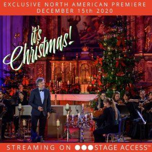 It's Christmas! Jonas Kaufmann  poster