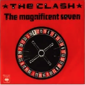 The Clash The Magnificent Seven cover