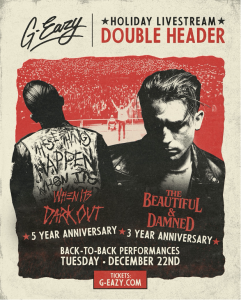 g-eazy livestream artwork