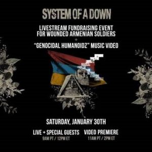 System Of A Down Livestream Event & Video Premiere poster
