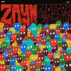 zayn nobody is listening cover
