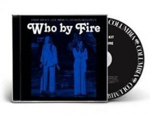 Who By Fire Black CD Picture