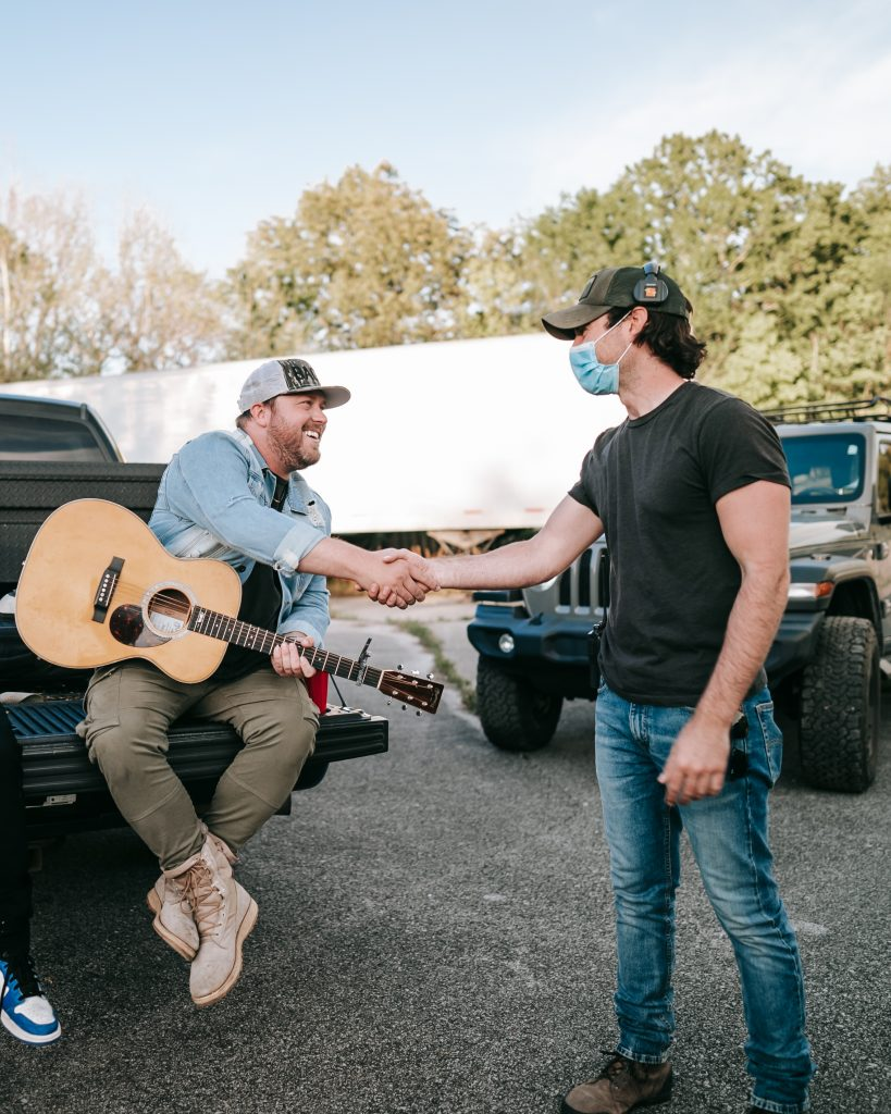 Mitchell Tenpenny and Dustin Haney