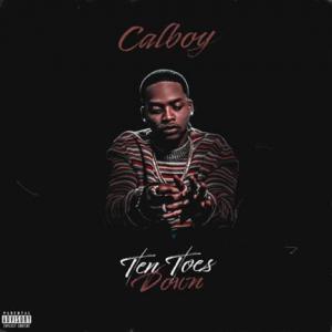 Calboy Ten Toes Down Cover