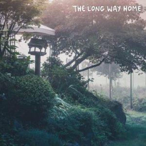 """the long way home"" powfu sara kays sarcastic sounds artwork"