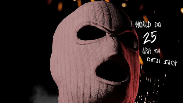 12am Ski Mask