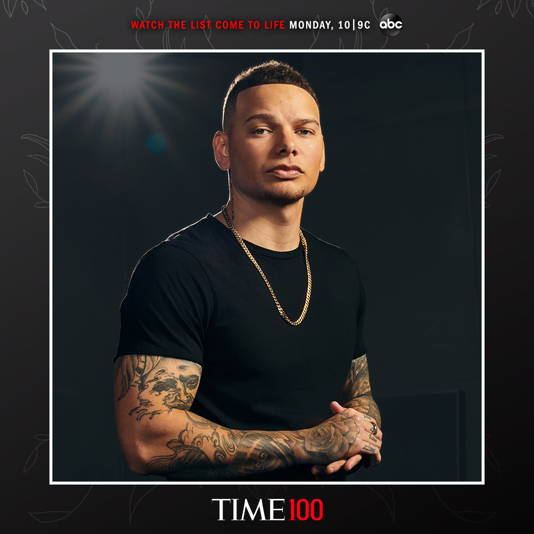 KANE BROWN NAMED TO TIME'S ANNUAL TIME100 LIST OF THE 100 MOST INFLUENTIAL PEOPLE IN THE WORLD