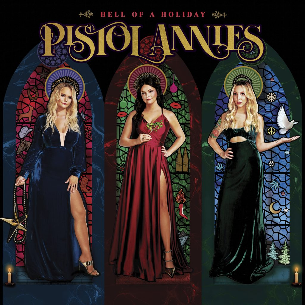 IT'S A VERY ANNIE CHRISTMAS! PISTOL ANNIES RELEASING THEIR FIRST EVER HOLIDAY ALBUM, HELL OF A HOLIDAY, OCT. 22