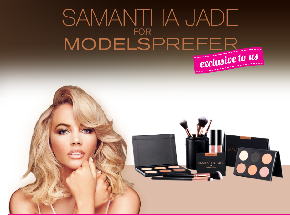 SAMANTHA JADE FOR MODELS PREFER COSMETICS