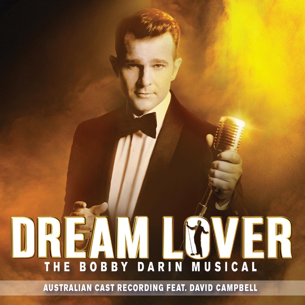 DREAM LOVER Australian Cast Recording Cover