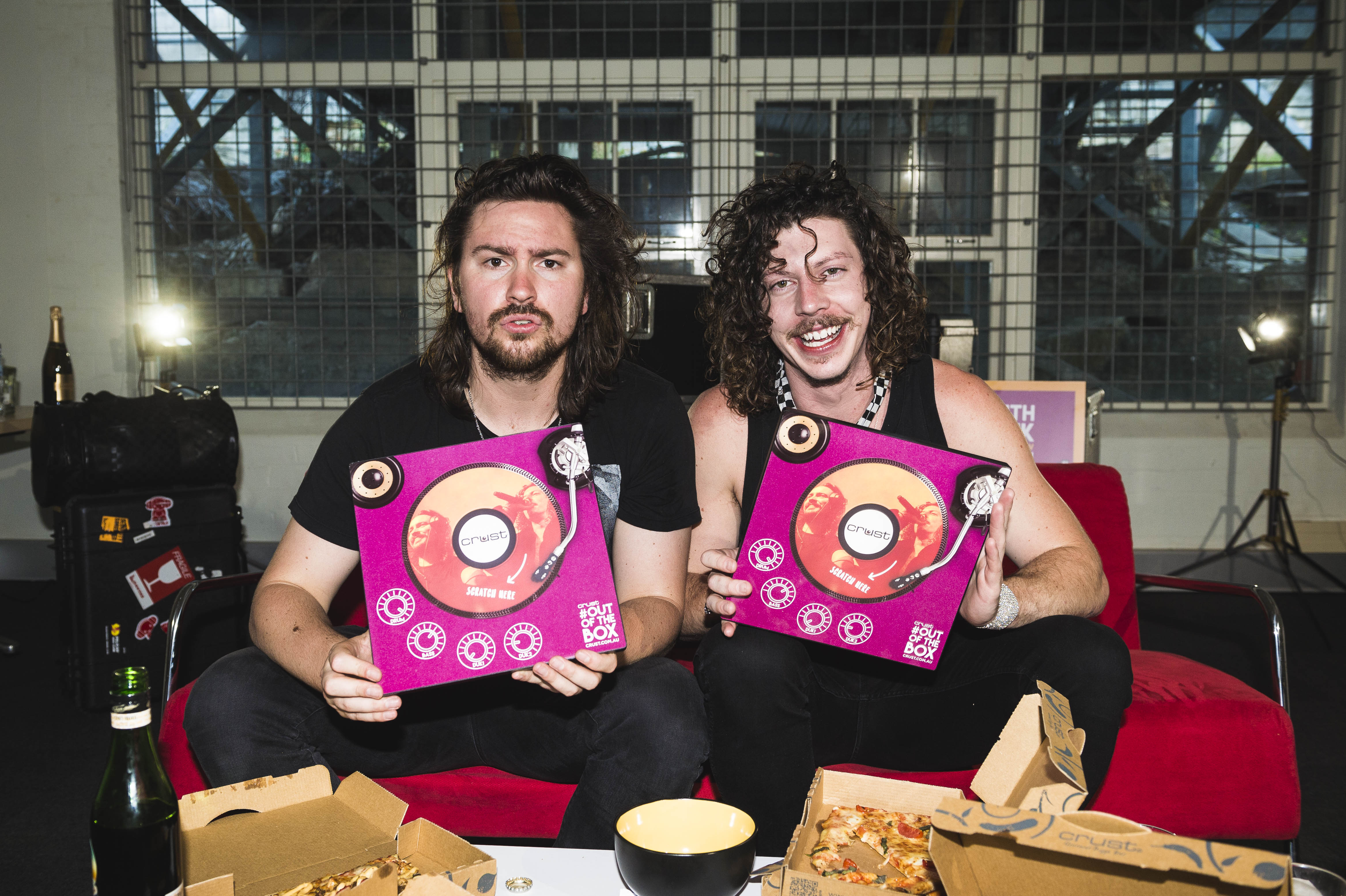 PEKING DUK & CRUST PIZZA