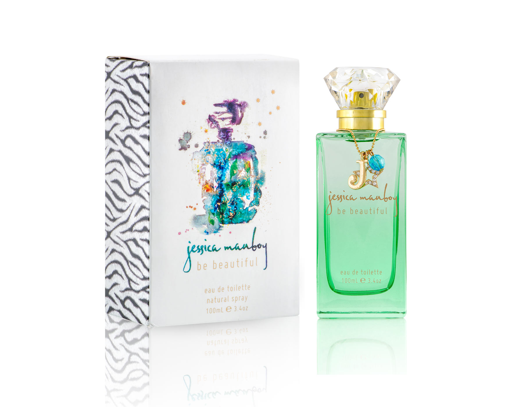 JESSICA MAUBOY 'BE BEAUTIFUL' FRAGRANCE