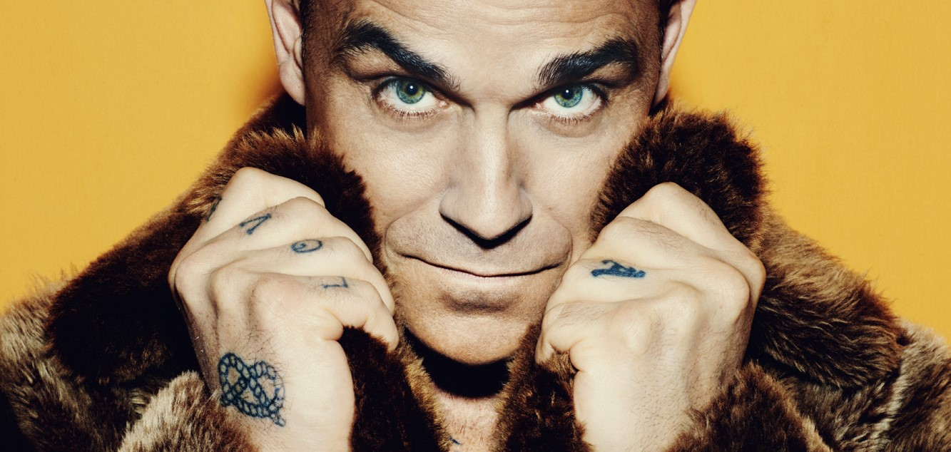ROBBIE WILLIAMS RELEASES 'PARTY LIKE A RUSSIAN' FROM NEW ALBUM!