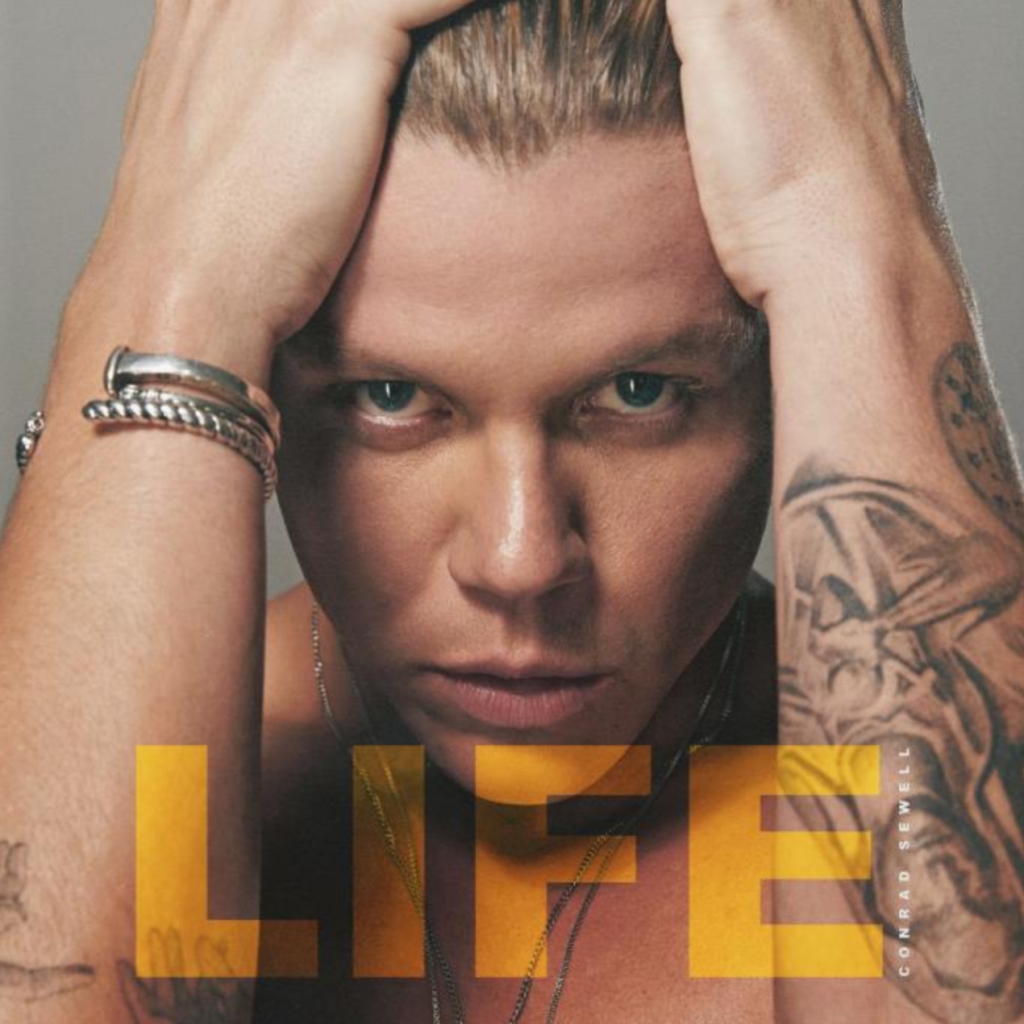 Conrad Sewell announces Debut Album 'LIFE'