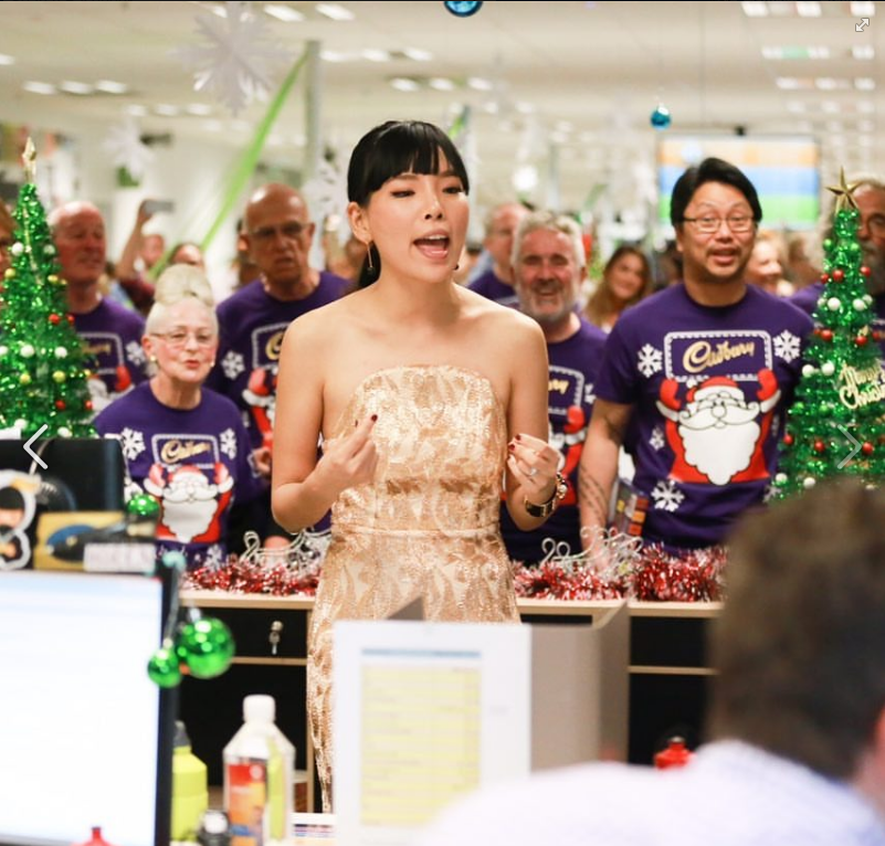 DAMI IM & CADBURY JOY DELIVERY