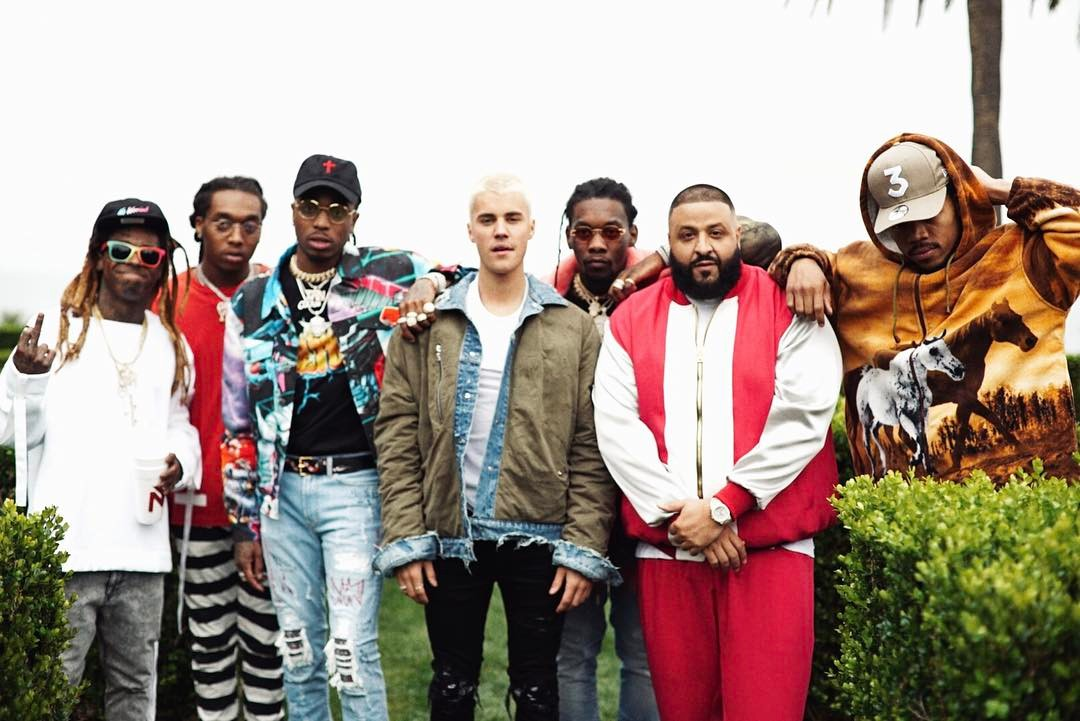 DJ KHALED'S NEW SINGLE 'I'M THE ONE' DEBUTS AT #1 ON THE ARIA SINGLES CHART!