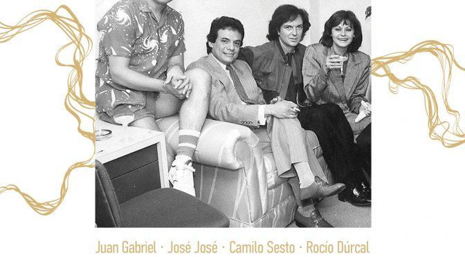 CARLOS RIVERA HACE UN HOMENAJE A CUATRO DE LAS VOCES MÁS QUERIDAS E IMPORTANTES DE IBEROAMÉRICA QUE FORMAN PARTE DE LA #FOTODELEYENDAS