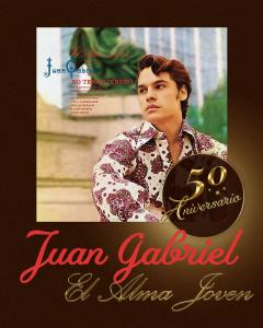 EL ESTATE DE JUAN GABRIEL  EN COLABORACIÓN CON SONY MUSIC MÉXICO CELEBRA LOS 50 AÑOS DE JUAN GABRIEL  #El Divo de Juárez Y DE SU ALBUM DEBUT EL ALMA JOVEN