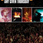 Any Given Thursday (DVD)
