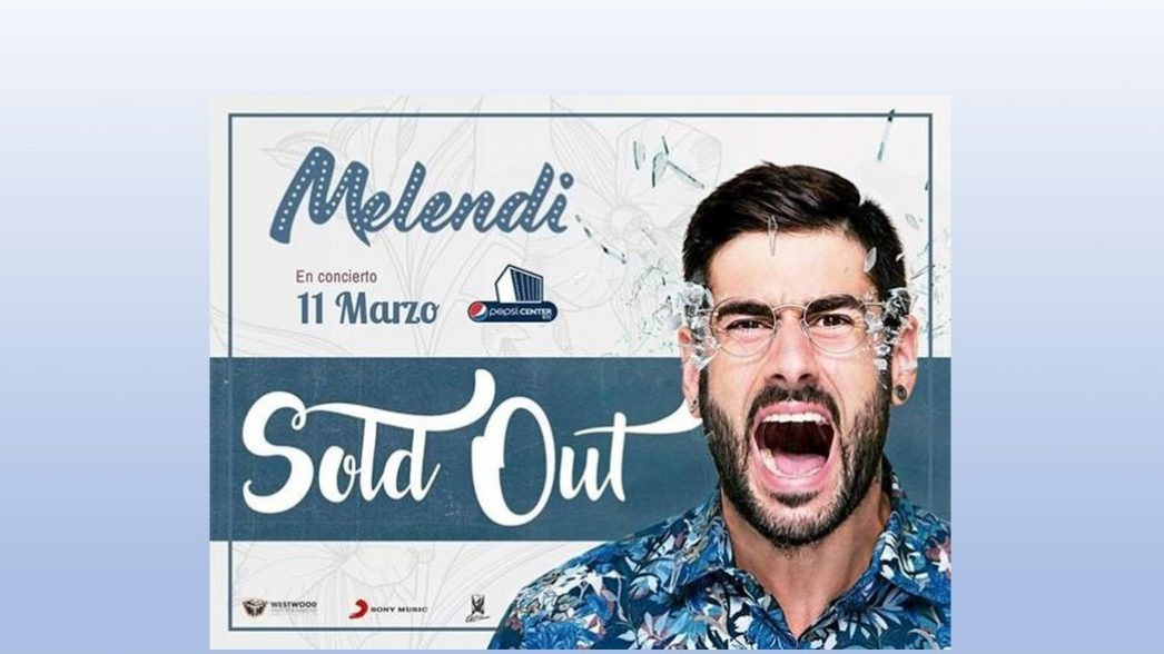 Melendi sold out