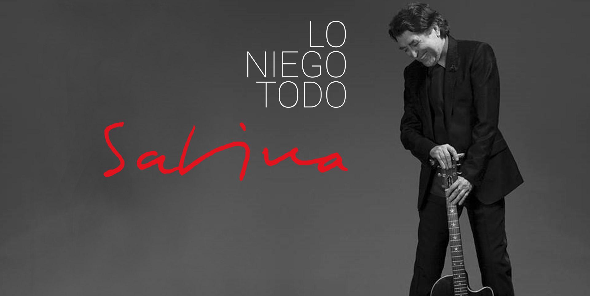 Joaquín Sabina Presenta Su Nuevo Disco Lo Niego Todo Sony Music Entertainment México