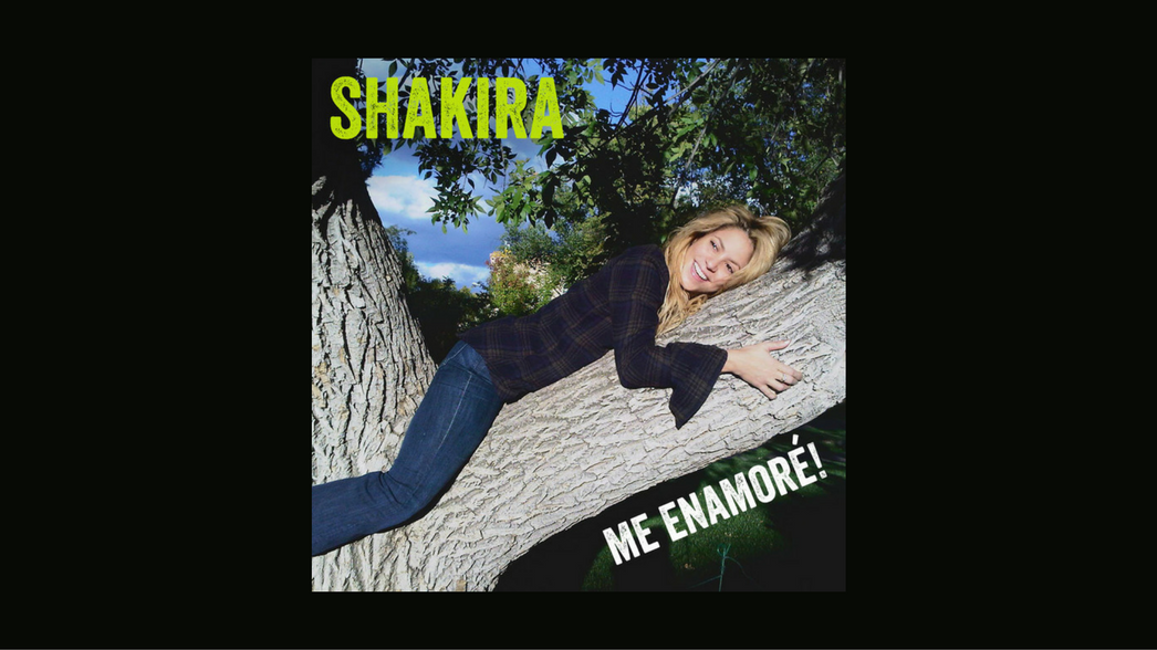 Shakira Me enamore nota
