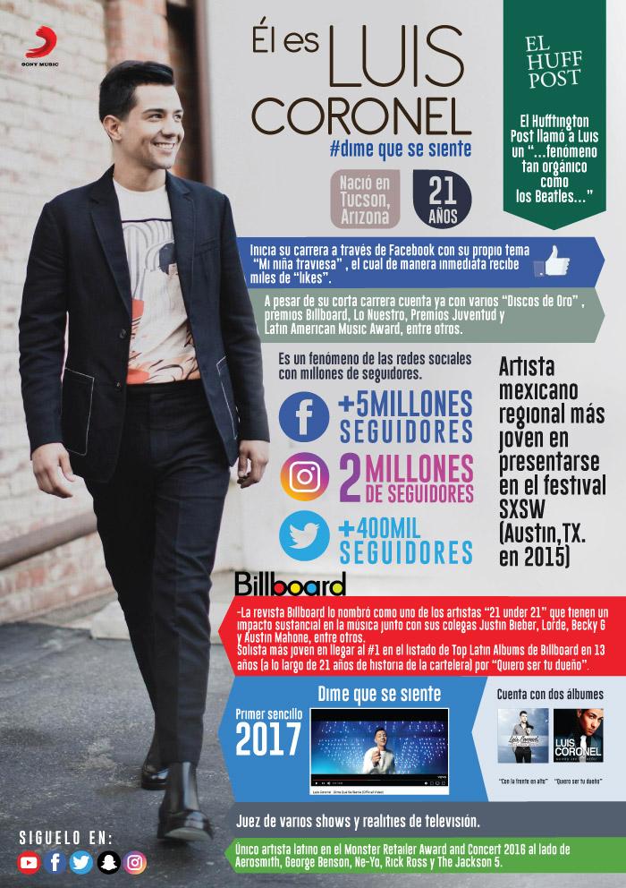 """LUIS CORONEL presenta el tema """"DIME QUÉ SE SIENTE"""""""