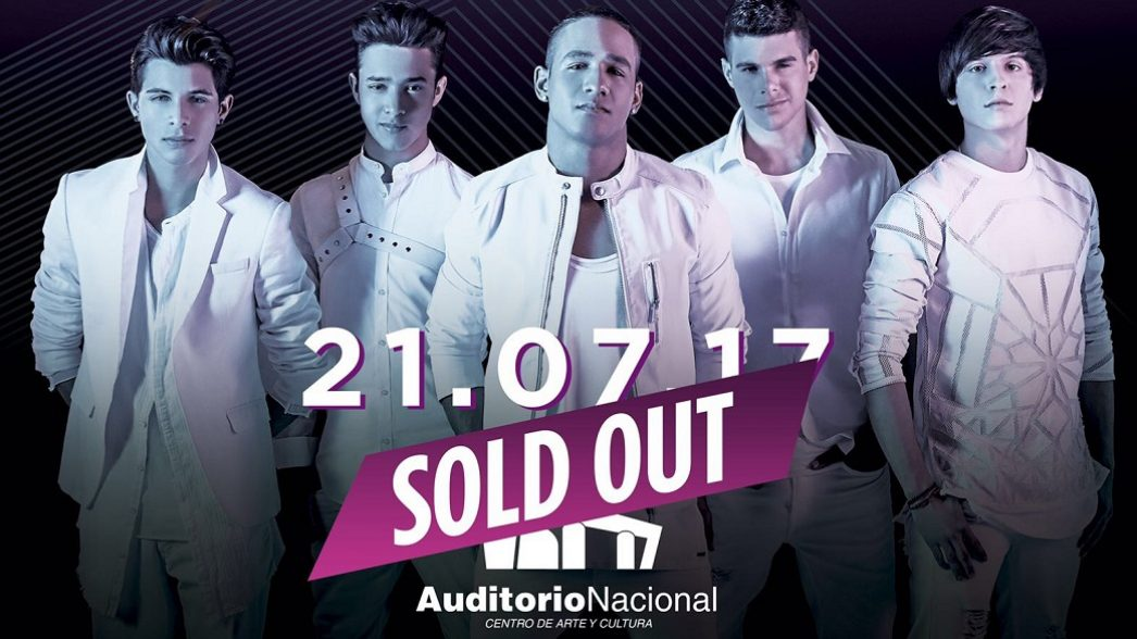 CNCO Sold Out Concerto MX 1050×585