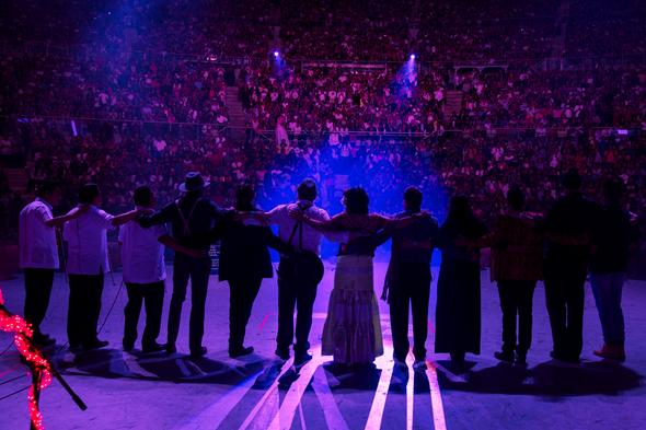 LILA DOWNS conquista la Guelaguetza 2017