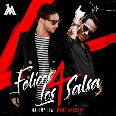 Maluma felices los 4 salsa Marc Anthony
