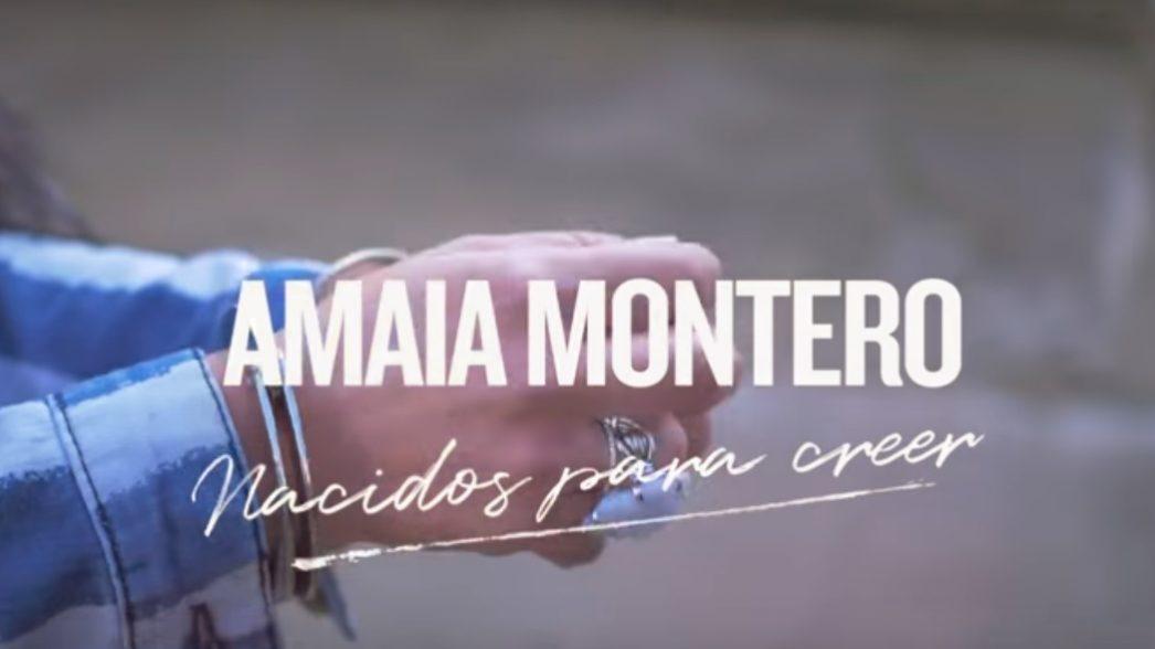 Amaia Montero Nacidos Para Creer nota