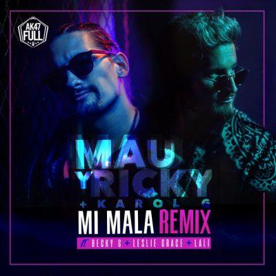 Mau Y Ricky Ft Karol G Mi Mala remix