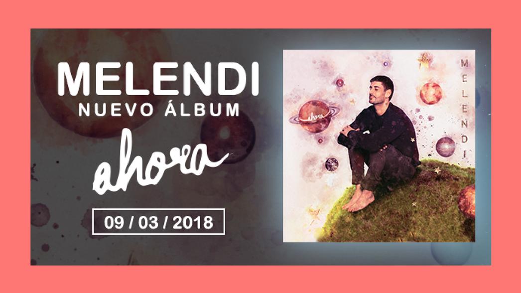 Melendi Nuevo album ahora nota