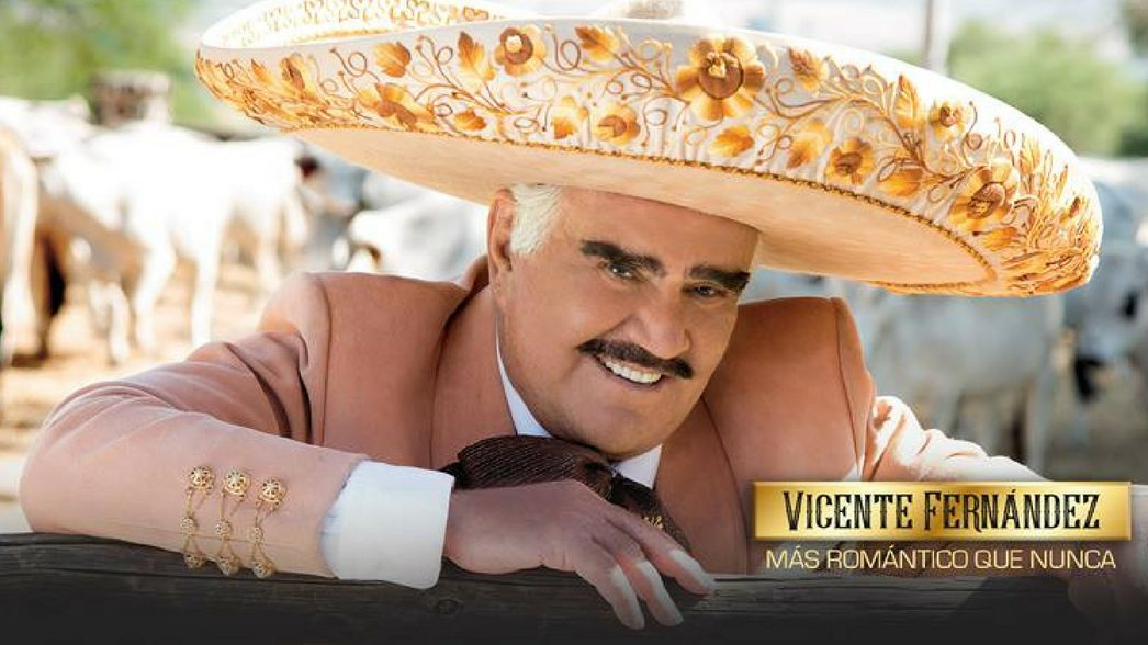 VICENTE FERNANDEZ MAS ROMANTICO QUE NUNCA HEADER