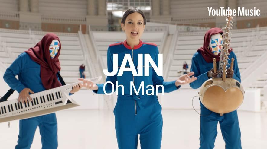 "JAIN ESTRENA EL VIDEO DE ""OH MAN"""