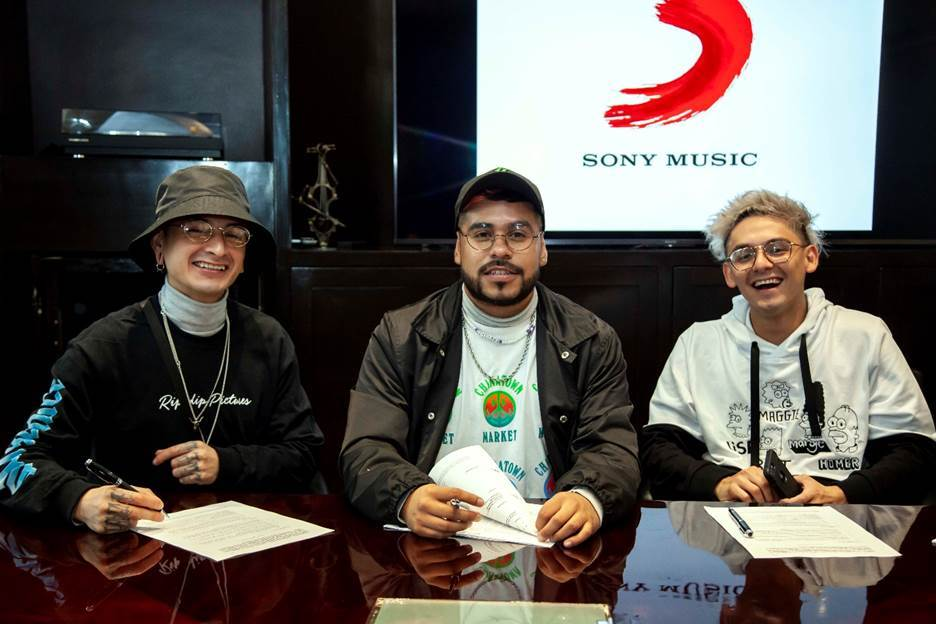 GHETTO KIDS FIRMAN CONTRATO CON SONY MUSIC MÉXICO