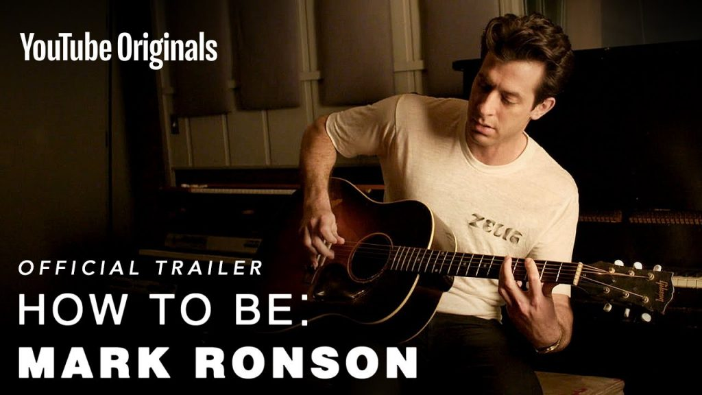 ESTE 12 DE OCTUBRE YOUTUBE ORIGINALS ESTRENARÁ EL DOCUMENTAL HOW TO BE: MARK RONSON