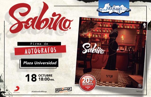 SABINO ANUNCIA SHOW DE YIN EN LA CDMX