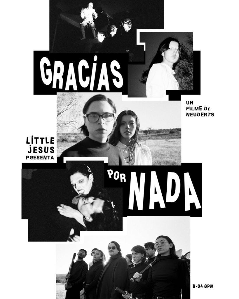 """LITTLE JESUS PRESENTA """"GRACIAS POR NADA"""" UN VIDEO DIRIGIDO POR LA CASA PRODUCTORA NEUDERTS!"""