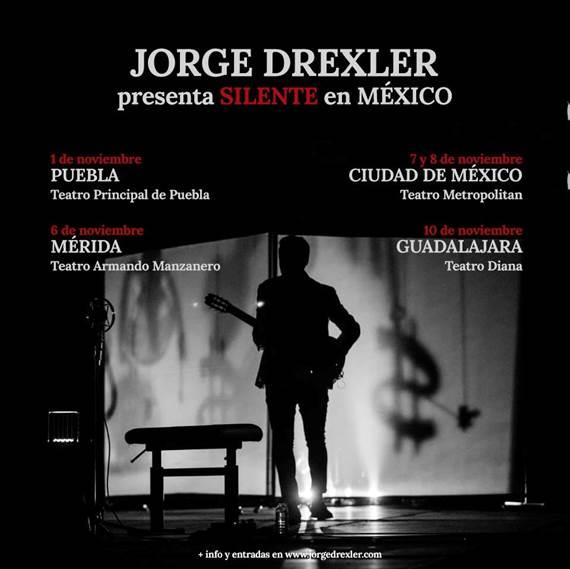JORGE DREXLER ANUNCIA DOBLE SOLD OUT EN EL TEATRO METROPÓLITAN CON SU GIRA SILENTE