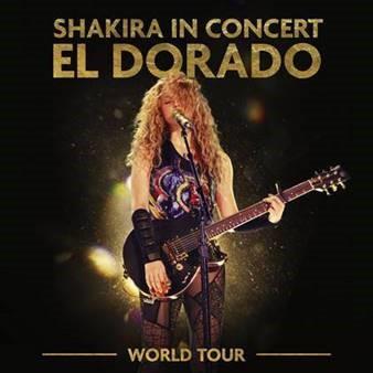 SHAKIRA ANUNCIA EL LANZAMIENTO DE SU ÁLBUM EN DIRECTO SHAKIRA IN CONCERT: EL DORADO WORLD TOUR
