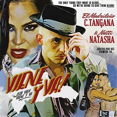 """C. TANGANA & NATTI NATASHA PRESENTAN SU ESPERADO SENCILLO Y VIDEOCLIP """"VIENE Y VA"""""""