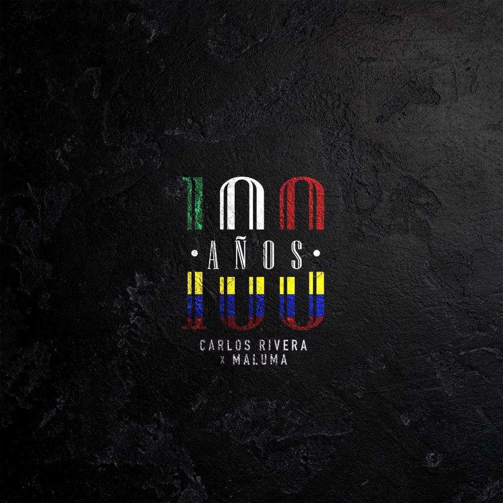 """Carlos Rivera & Maluma unen su talento en su nuevo sencillo y video """"100 Años"""""""