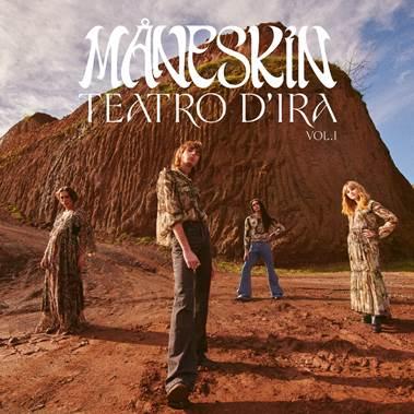 """Måneskin conquista el #1 del top 50 de Spotify con """"Beggin"""" & el #8 con """"I Wanna be Your Slave"""""""