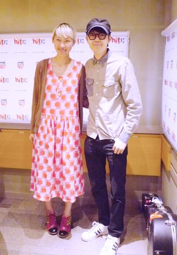 Joanna王若琳與音樂小教父方大同跨海交友