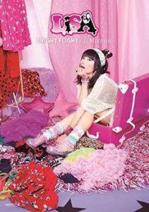 LiSA / BRiGHT FLiGHT / L.Miranic (CD+DVD+Booklet)