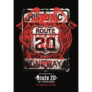 T.M.Revolution / T.M.R. LIVE REVOLUTION '16-'17 -Route 20- LIVE AT NIPPON BUDOKAN (2DVD+CD)